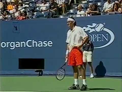 USO 2001 R4 - Agassi Vs Federer