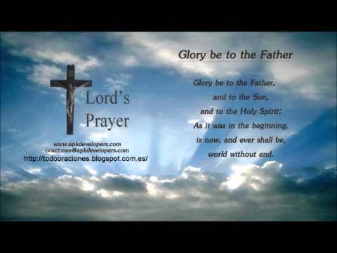 Catholic prayers - Glory be to the Father