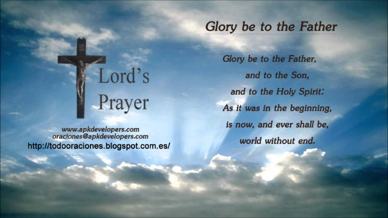Catholic prayers - Glory be to the Father - YouTube