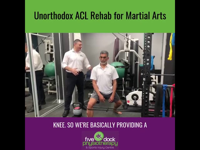 Check out this unconventional rehab exercise following an ACL Injury