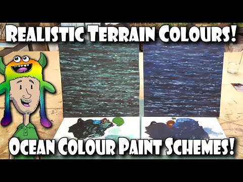 Realistic Ocean / Water Terrain Colours!