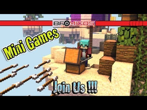Minecraft Mini Games | Bromigos LIVE stream | Join us!!