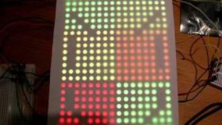 24x16 RGB LED Display - Static Images