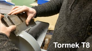 Less Stress, More Freedom With Sharp Tools | Tormek T-8