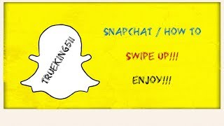 How to Add Swipe Up Links in Snapchat‼️