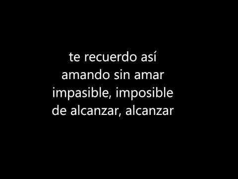 Luis Miguel Fria como el viento -Letra-