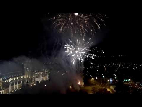 Artificii de Revelion la Iași, 2016-2017 (film realizat de Dan Luca)