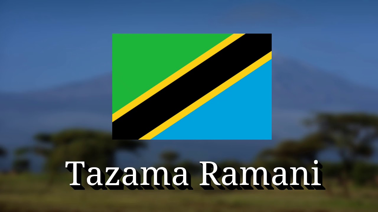 Download tazama Ramani utaona nchi nzuri see Map you will see a beautiful country (Tanzania Patriotic song)