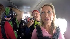 Michelle Lake Wales, Florida Skydiving Center 2016  14,000 ft jump 60 second freefall at 120 mph