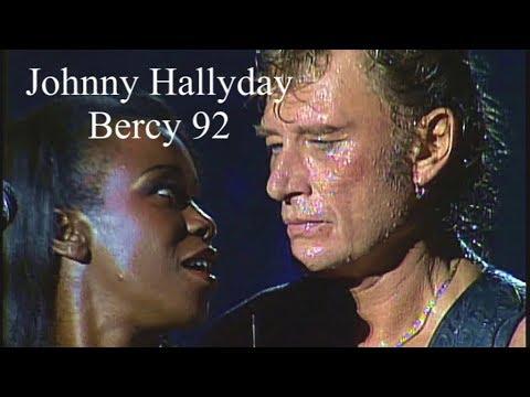 Johnny Hallyday BERCY 1992 Haute qualité
