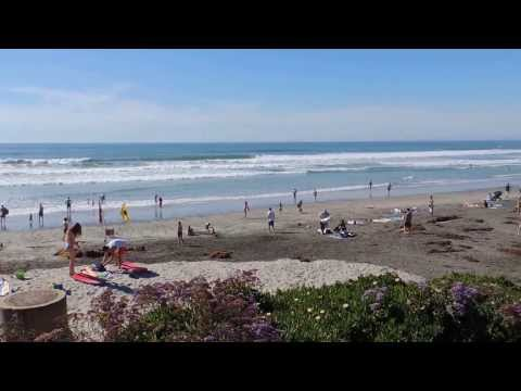 "Beautiful Del Mar Beach is such a picturesque seaside hideaway, ""Love San Diego""!!"