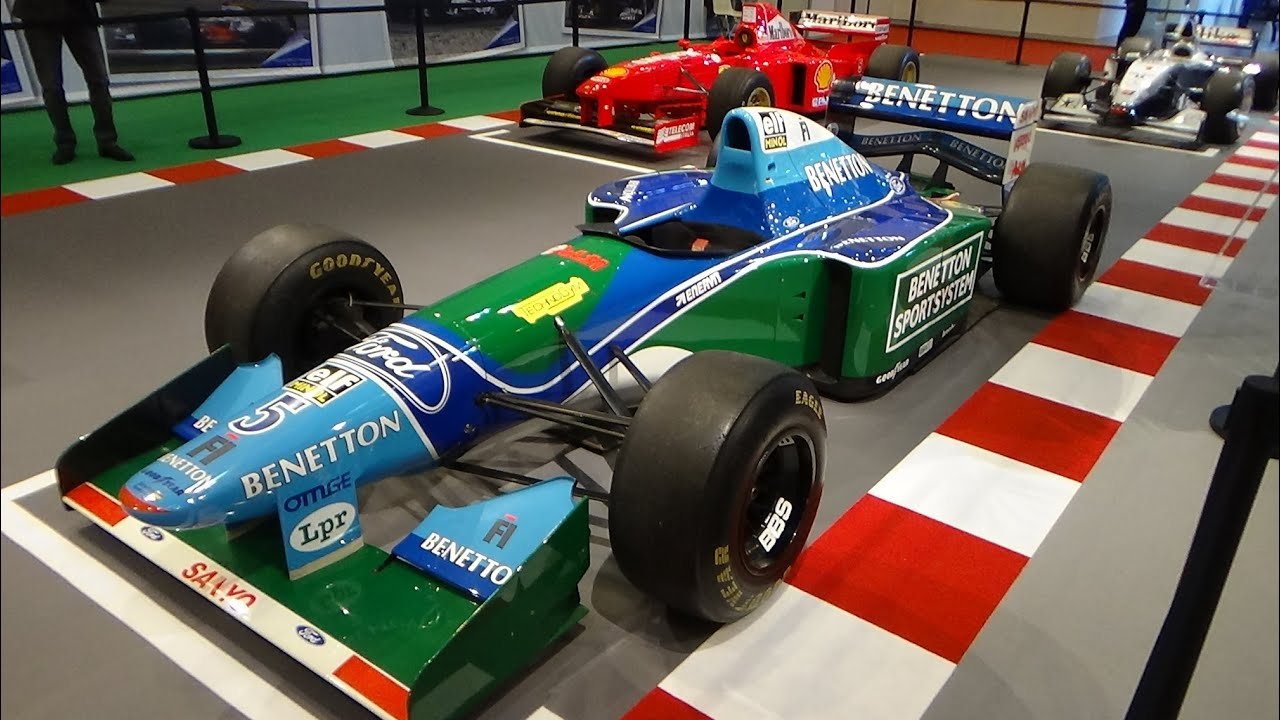 1994 benetton b194 ford f1 champion michael schumacher. Black Bedroom Furniture Sets. Home Design Ideas