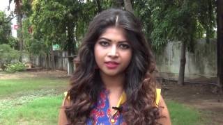 Actress Srijita Ghosh  Speaks about Koothan Movie At Shooting Spot