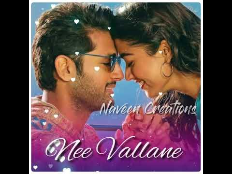 Hey Choosa Song Whatsapp Status Bheeshma Movie Song Nithin Rashmika Naveen Creations Youtube