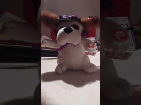 Weird Halloween talking teddy