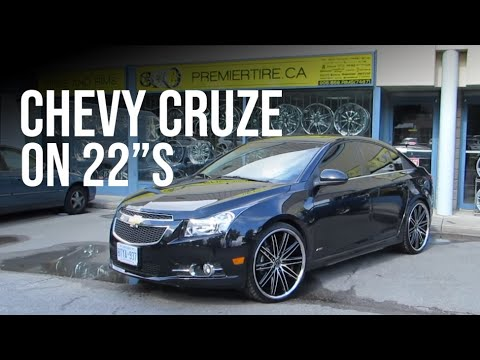 Chevy Cruze On 22 Asanti Rims Done By Premiertire Ca 905 856 7467