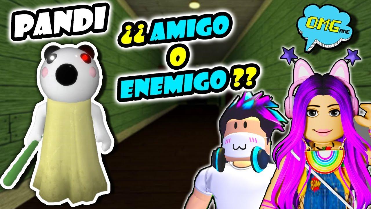 🔴DIRECTO PIGGY 🐷 PANDI ¿AMIGO o ENEMIGO? Jugando en directo a PIGGY Roblox 🔨 OMGame Retos Divertidos