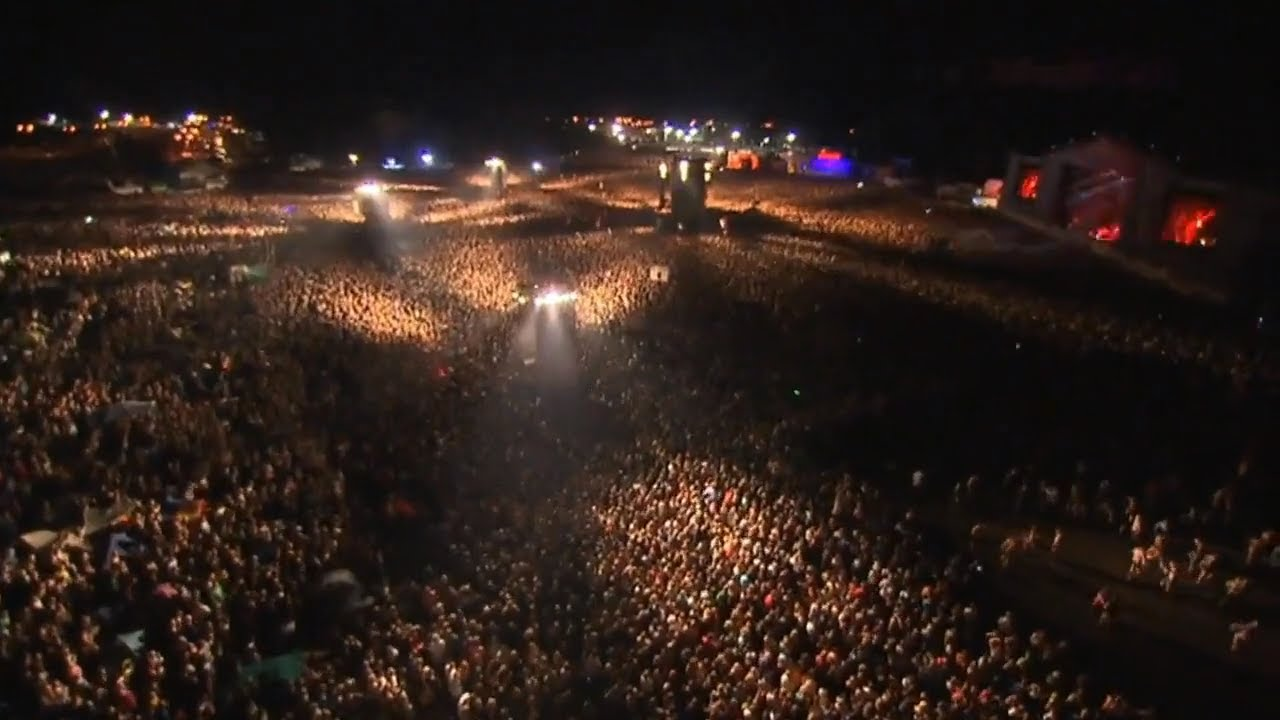the biggest concert and crowd ever over 700 000 people