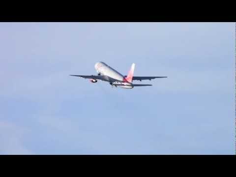 [RARE] Vim Airlines Boeing 757 take off Innsbruck