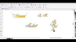 How To Make Name Pendant | Personalized name pendant | Design Pendant screenshot 1