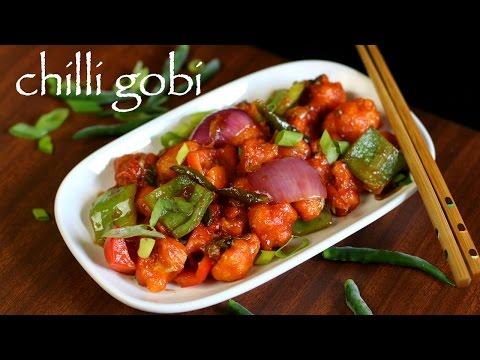 Chilli Gobi Recipe Gobi Chilli Recipe Chilly Gobi Recipe