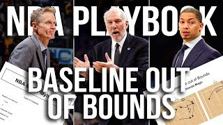 NBA Teams Best Baseline out of Bounds Set