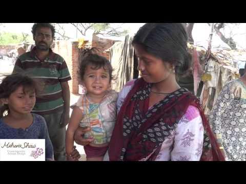 Life At the Madrasi Basti, Jaipur, India