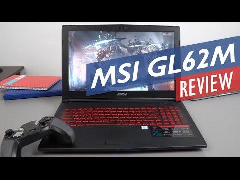 "MSI GL62M 7REX Review 15.6"" Budget i7-7700HQ Nvidia 1050 TI Gaming Laptop"