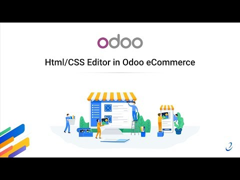 Html/CSS Editor In Odoo ECommerce
