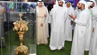 """أحمد بن محمد بن راشد يفتتح دورة ند الشبا الرياضية الرابعة """"ناس 2016"""""""