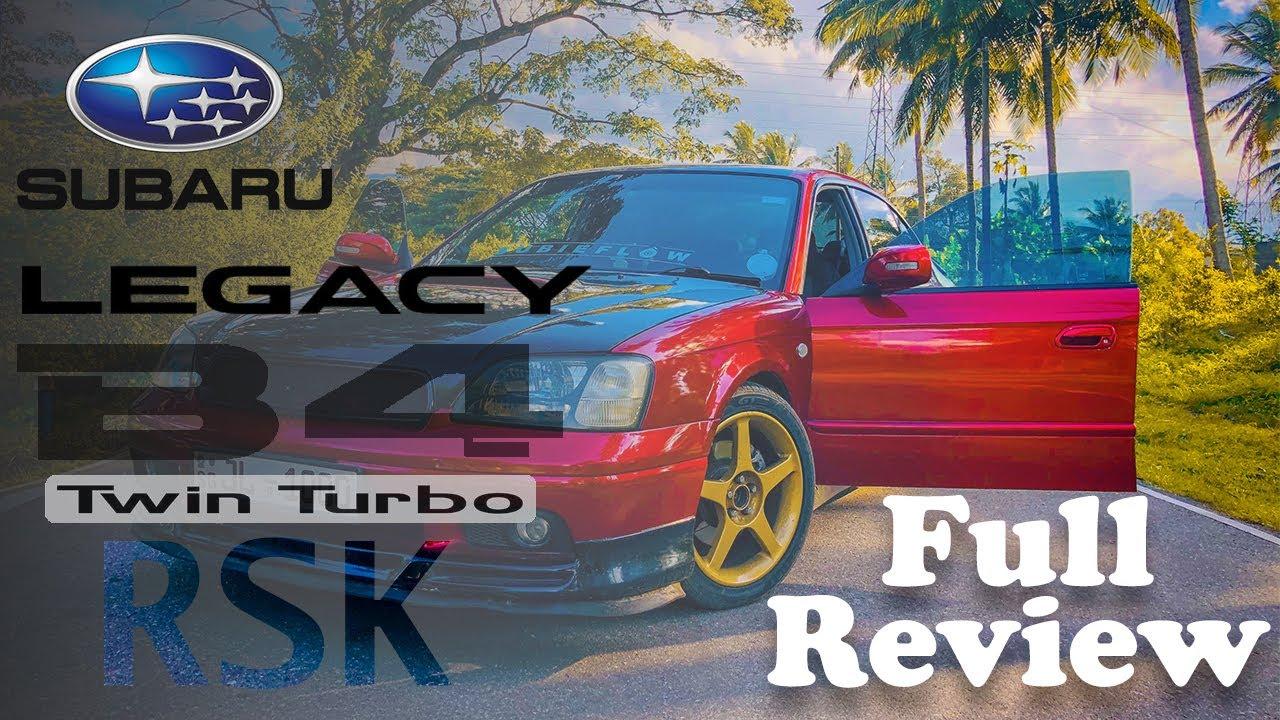Download Subaru Legacy B4 RSK 1999  Full Review (Sinhala)