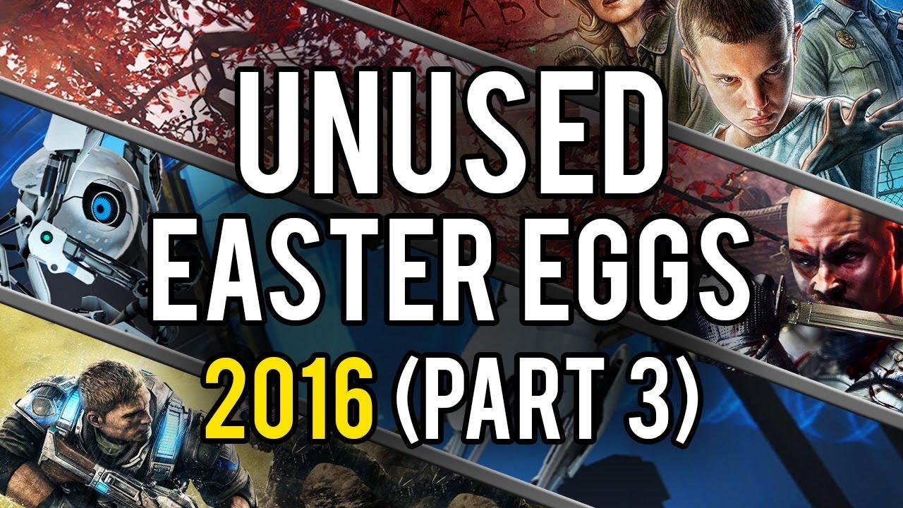 Best Unused Video Game Easter Eggs of 2016 (Part 3) - YouTube