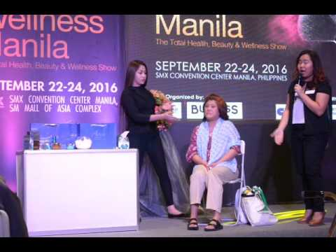 Aqua Mineral at Beauty and Wellness Manila 2016