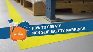 How to Create Non Slip Safety Markings with Belzona