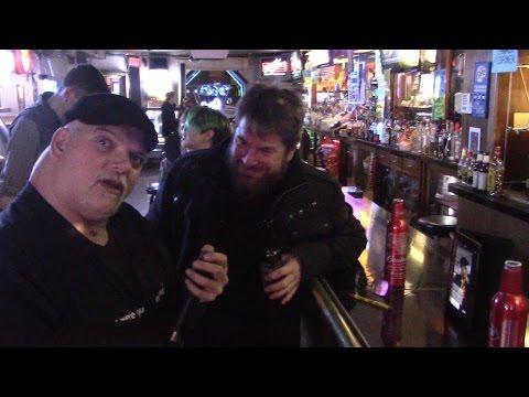 Jeff the Drunk (Howard Stern Whack-Packer) sings Dixieland Delight at Karaoke in Baltimore