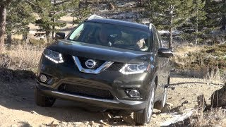 2014 Nissan Rogue Colorado Winter Off-Road Review