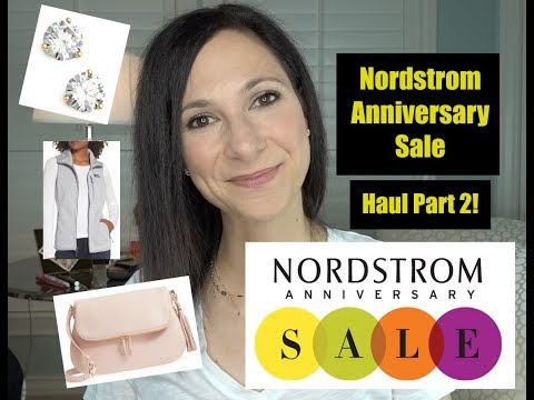 Second Nordstrom Anniversary Sale 2018 Haul! | Dr. Dani Fisher