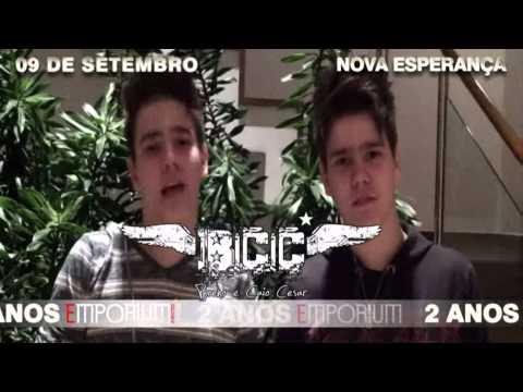 2 Anos Emporium Eventos - Breno & Caio Cesar - 09 de Setembro Nova Esperança