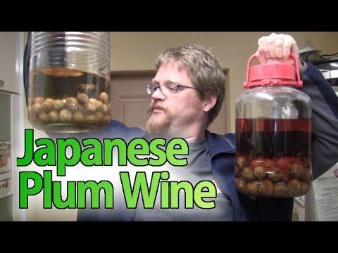 japanese plum wine i live in japan 100 youtube. Black Bedroom Furniture Sets. Home Design Ideas