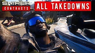 Sniper Ghost Warrior: All Takedowns and Melee Animations