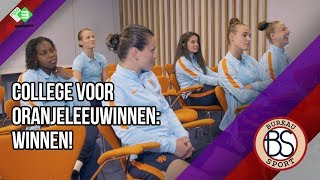 College voor de Oranjeleeuwinnen: winnen ten koste van alles! - Bureau Sport Vrouwen