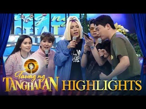 """Tawag Ng Tanghalan: The """"Its Showtime!"""" hosts call Calvin Abueva"""