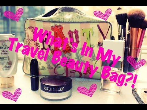 ❤ What's In My Travel Beauty Bag?! ❤