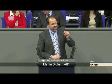 Martin Sichert (AfD) SPD, LINKE und GRÜNE fördern den RASSISMUS. Altparteien toben.