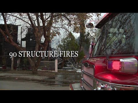 Video: Chilly weather sparks house fire concerns