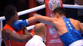 Semifinals (81kg)  LA CRUZ Julio (CUB) vs NURDAULETOV Bekzad (KAZ) World Ekaterinburg 2019
