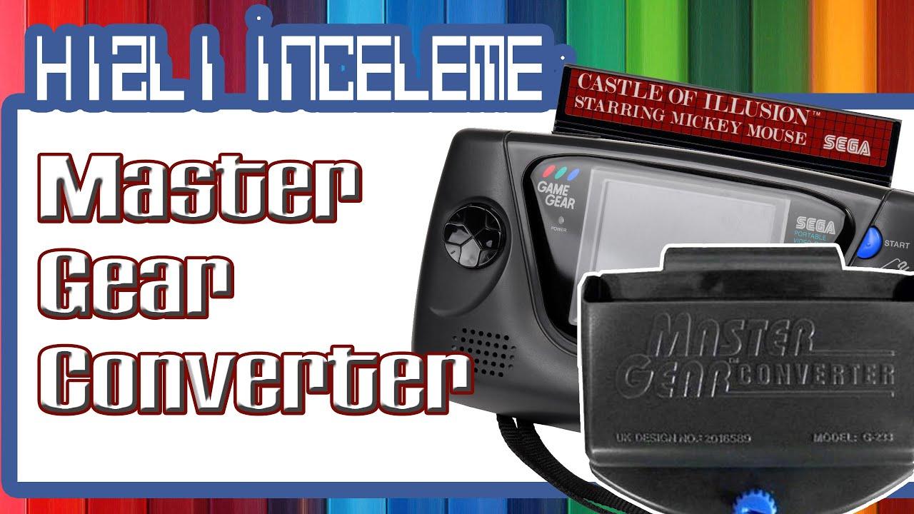 Download Hızlı İnceleme: Master Gear Converter  ( phase9 ) Master System Oyunları Game Gear'da