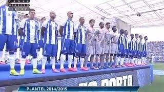 Apresentação official do Futebol Clube do Porto 2014-2015