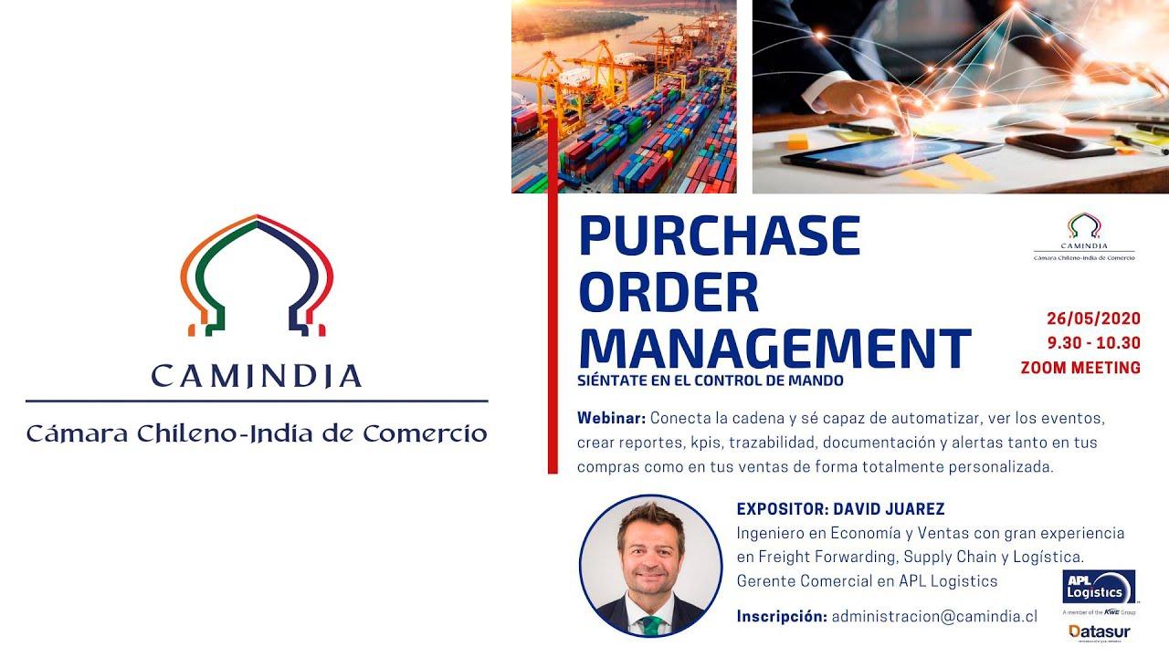 Webinar: Purchase Order Management