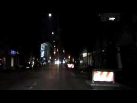 Copenhagen night drive 16:9